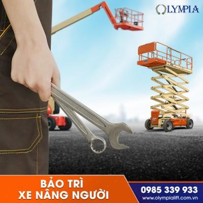 Olympia - đơn vị chuyên sửa chữa xe nâng người uy tín giá rẻ có bảo hành
