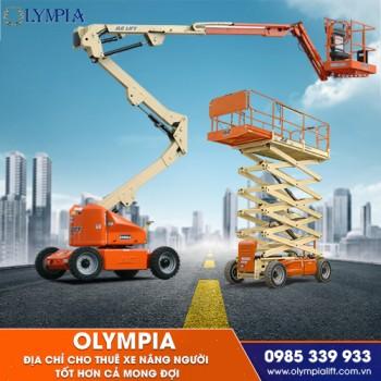 Olympia - địa chỉ cho thuê xe nâng người tốt hơn cả mong đợi