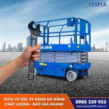 Dịch vụ sửa xe nâng đà nẵng chất lượng - báo giá nhanh