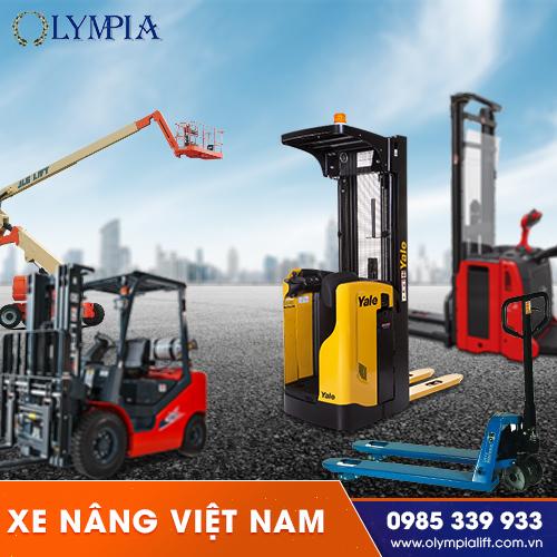 đây là các loại xe nâng phổ biến nhất Việt Nam