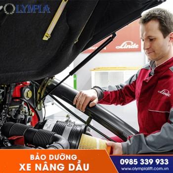 Quy trình bảo dưỡng xe nâng dầu, tuyệt chiêu giúp xe luôn hoạt động tốt